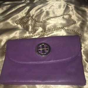 Handbags - Purple crossbody/clutch